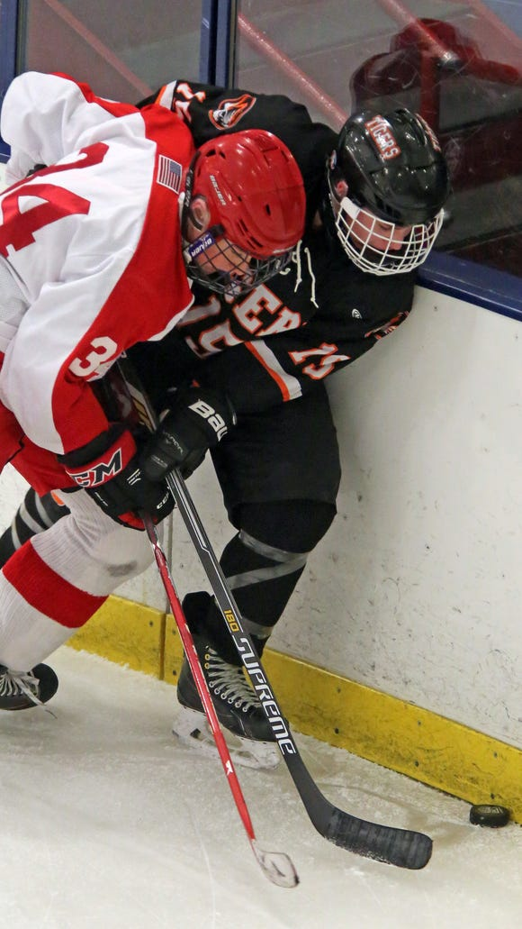 North Rockland's John Gormley, left, and Ethan Klipstein
