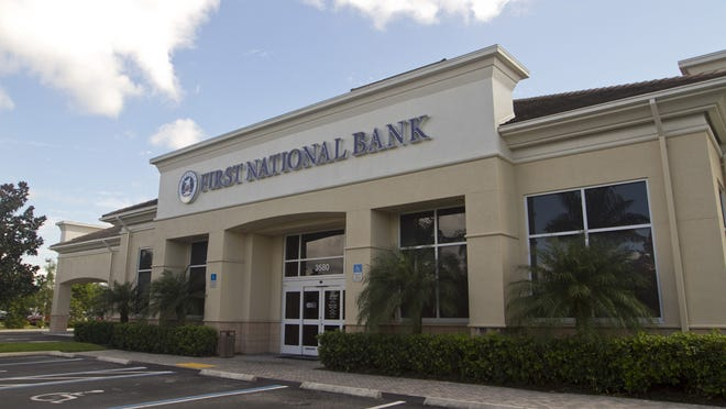 First National Bank of the Gulf Coast has five branches, all in Collier County.  Starting Saturday, the bank's name will be First Florida Integrity Bank under a Florida charter.