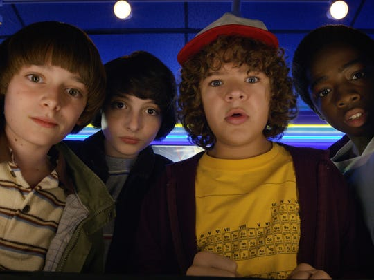 "The Netflix sci-fi series ""Stranger Things"" plays up its 1980s pop-culture references."