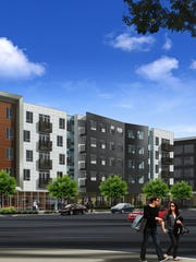 Part of the Artistry project Downtown, construction will begin on the Muse and the Mentor apartment complex buildings next spring.