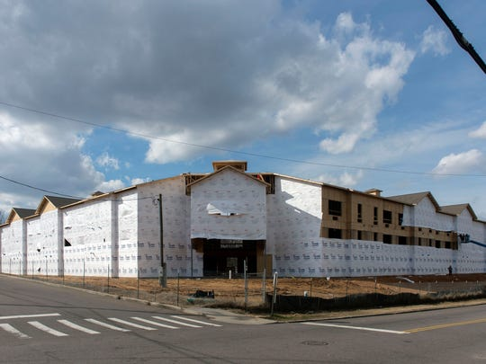 Construction has begun on the Residences at Five Points,