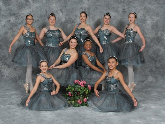 Royal corps de ballet from the Fontenot Dance Theatre