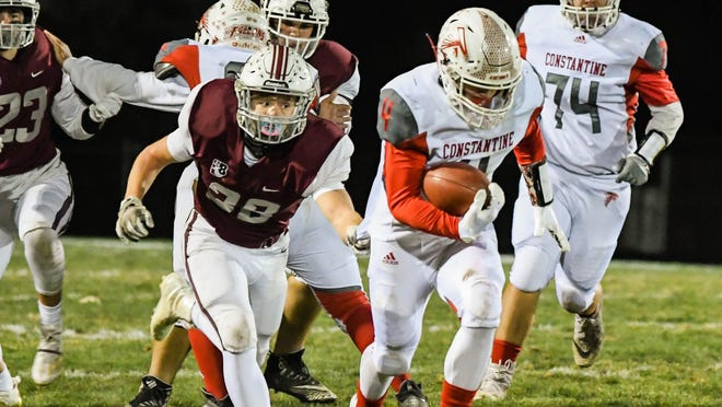 Brayden Clark and the Constantine Falcons will have an opportunity to finish their fall sports season, but with new guidelines.
