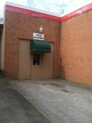 Entrance to the Damascus, Va., police department. The
