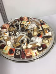 A plate of pastries Innovative Catering Concepts provided