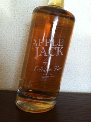 Freedom Run Winery's Apple Jack.