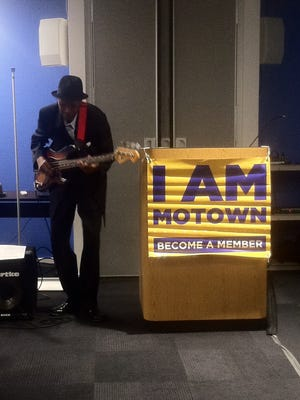 James Jamerson Jr. at TechTown Detroit in November 2015, in one of his final public appearances.