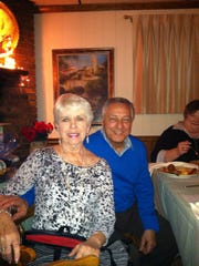 Late County Councilman Joe Reda and his wife, Donna. Joe Reda died Thursday.
