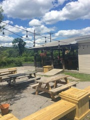 Trailhead has a newly renovated patio, complete with