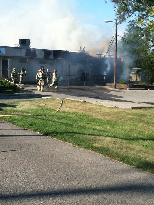 PLY office building fire