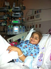 Maryam Rasheed of Macomb Township undergoes treatment