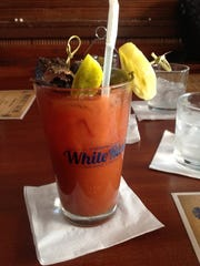 The Bloody Mary ($8) features infused vodka and is