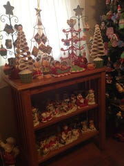 Inside Judy Lapczynski's home.