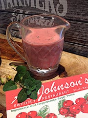 Al Johnson's lingonberry vinaigrette is a tangy-sweet