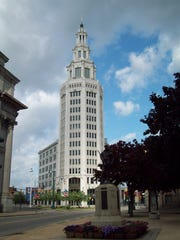 The Electric Tower in Buffalo, where Dixon Schwabl