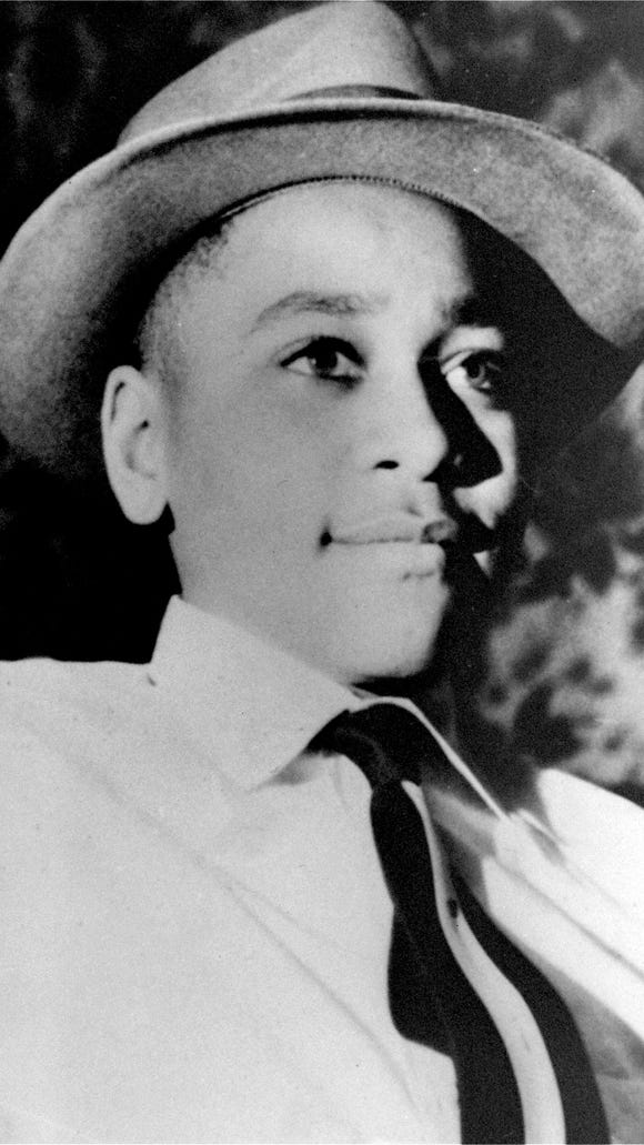 Emmett Till, a black, 14-year-old teenager from Chicago, was brutally killed near Money in 1955 after reportedly whistling at a white woman.
