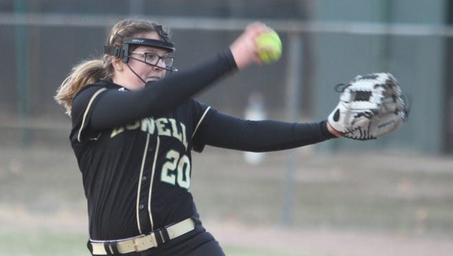 Howell's Molly Carney pitched a no-hitter against Grand Blanc.