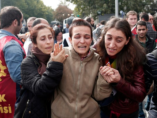 EPA TURKEY EXPLOSIONS WAR ACTS OF TERROR TUR