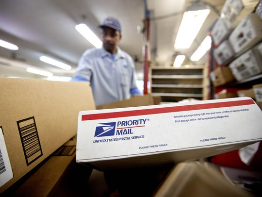 The U.S. Postal Service becomes even busier during the holiday months, when people from all over the country ship gifts nationwide. Many food gifts are among those shipped during November, December and January.
