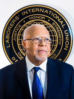 Robert E. Richardson Sr., vice president and regional manager of Laborers' International Union of North America.