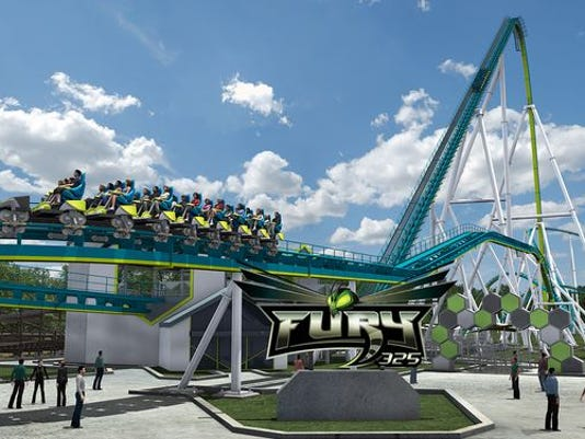 Fury 325 Roller Coaster at Carowinds Deemed Safe