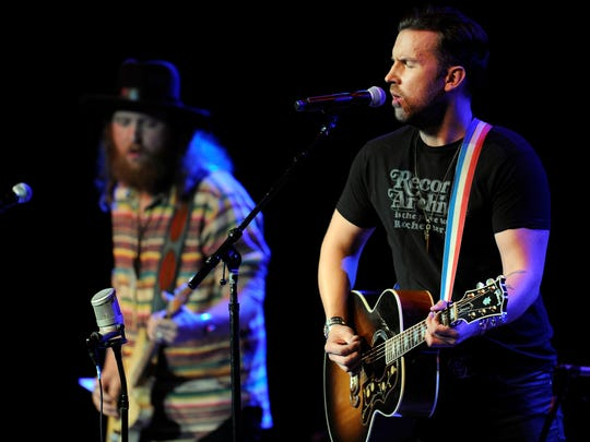 Brothers Osborne perform during Marty Stuart's Late