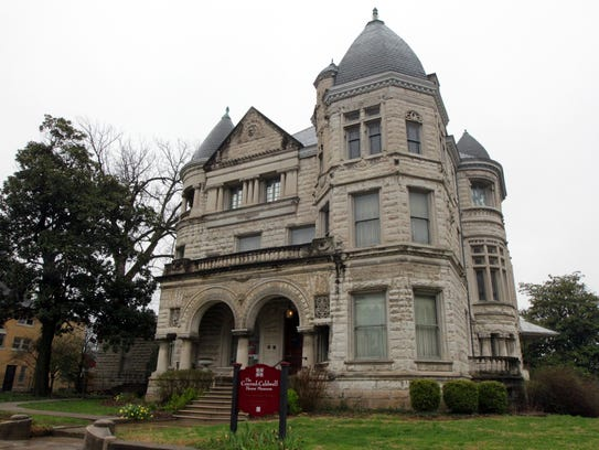 A frontal view of the Conrad-Caldwell house on St.