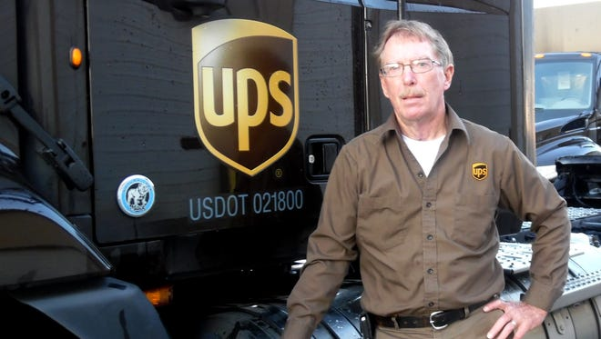 Donald Clothier, who drives a semi for UPS, recently celebrated 40 years of accident-free driving for his company. The hardest part of his job: traffic congestion and distracted drivers.