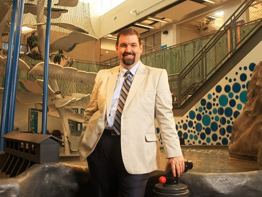 Mat Sinclair, The Discovery's executive director.
