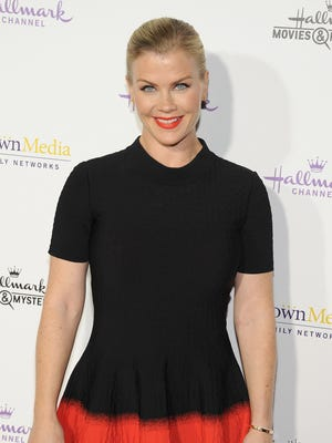 Actress Alison Sweeney arrives at Hallmark Channel & Hallmark Movie Channel's 2015 Winter TCA party at Tournament House on January 8, 2015 in Pasadena, California.