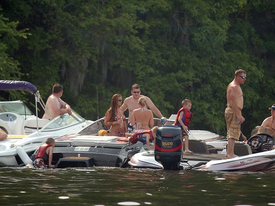 Two people died in boating accidents this past weekend.