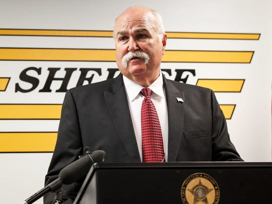 Sheriff Richard Jones will be among a small group of