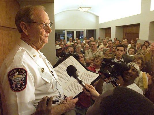 Former Jackson Police Chief Jim Black