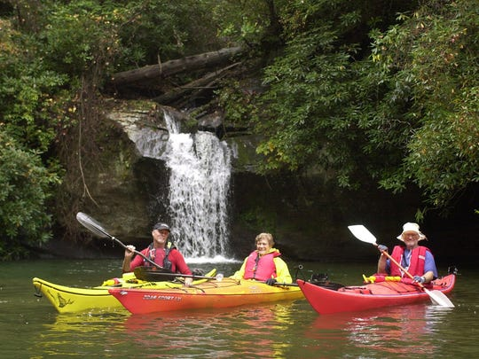 Lake Jocassee is a hot spot for kayakers. But it wasn't
