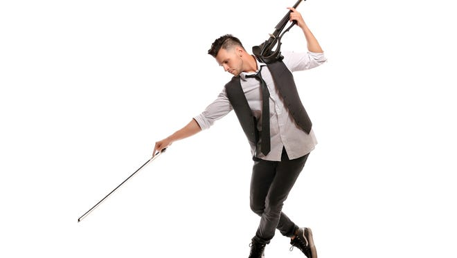 Svet Radoslavof, 29, describes himself as an electro hip-hop violinist. He starred on America's Got Talent in 2012, and underwent brain surgery Monday at Strong Memorial Hospital.