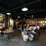 The North 7th Street Starbucks in Brooklyn recently began selling beer and wine.