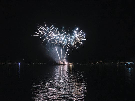 See two nights of fireworks at the Venetian Festival