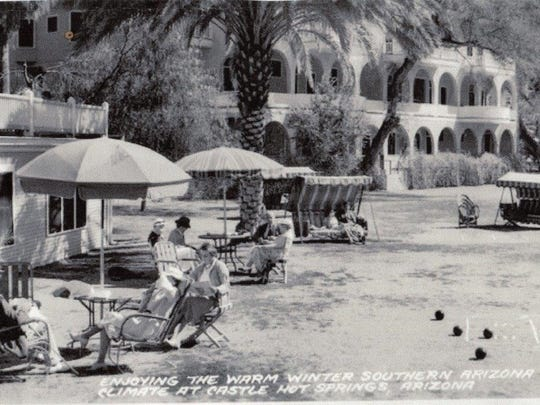 In the early 1900s, guests flocked to Castle Hot Springs to enjoy the mild desert weather.
