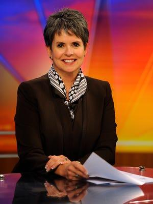 WSMV-Channel 4 news anchor Demetria Kalodimos.