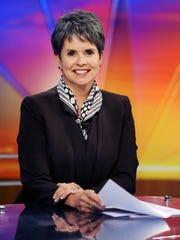 WSMV news anchor Demetria Kalodimos on set Nov. 12,