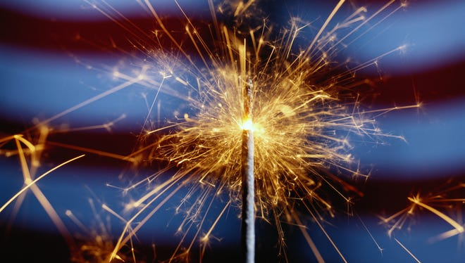Sparklers can burn at temperatures of more than 1,200 degrees Fahrenheit — hot enough to cause third-degree burns or melt some metals, according to the fire department.