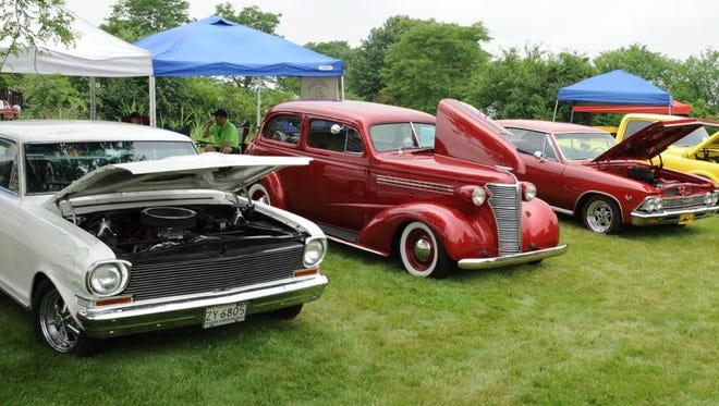 Car show enthusiasts had plenty of beautiful, vintage vehicles at this year's Liberty Festival held in Canton.