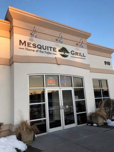The Mesquite Grill is located on Elmgrove Road.