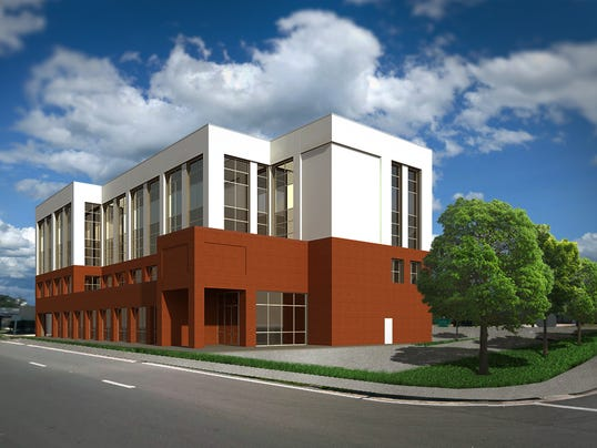 12 million bank office building approved for Architectural concepts pensacola florida
