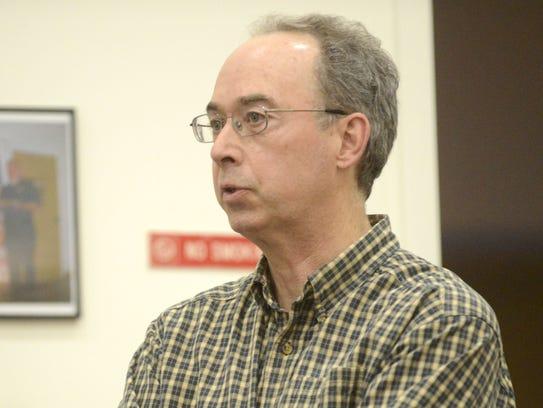 Former Mayor Michael O'Brien speaks about the lawsuit.
