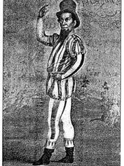 A circus poster featuring Dan Rice.