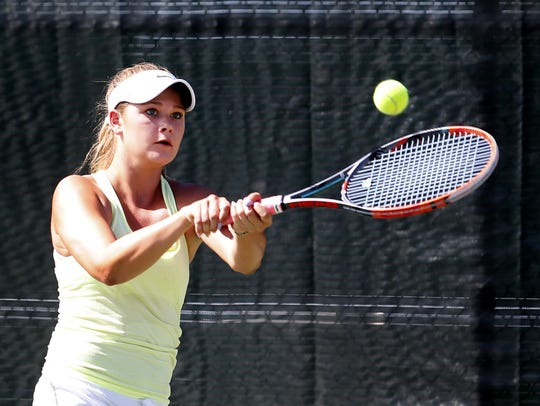 Horizon's Liza Isayev plays against Rincon/University's