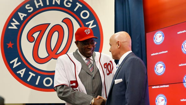 The Nationals named Dusty Baker their new manager.