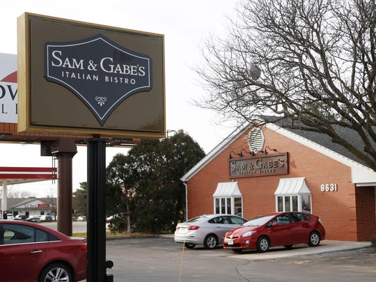 Sam and Gabe's restaurant on Hickman Road in Urbandale.
