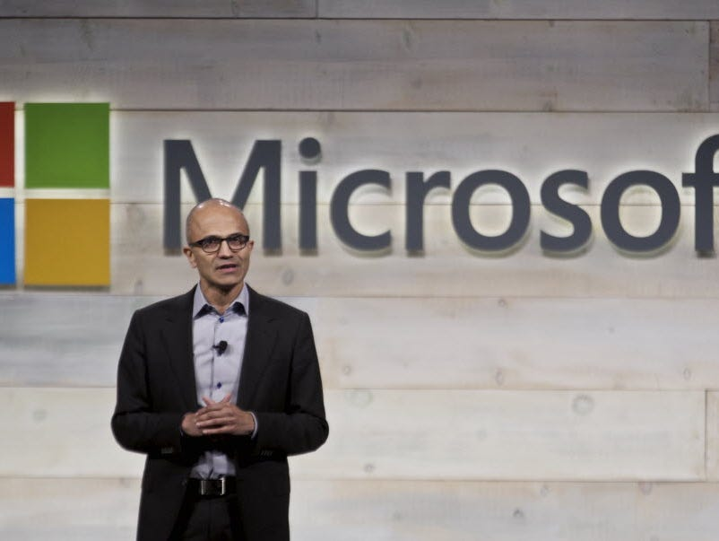 Microsoft CEO Satya Nadella is in the midst of maneuvering the tech company through its biggest changes in decades.